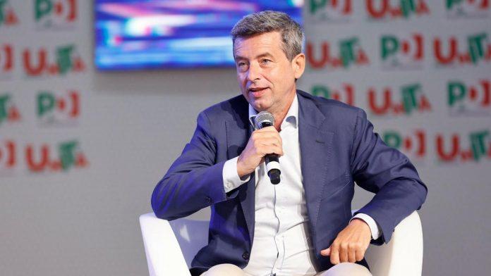 Il Ministro Andrea Orlando stasera a Verona - Foto pagina Facebook Andrea Orlando