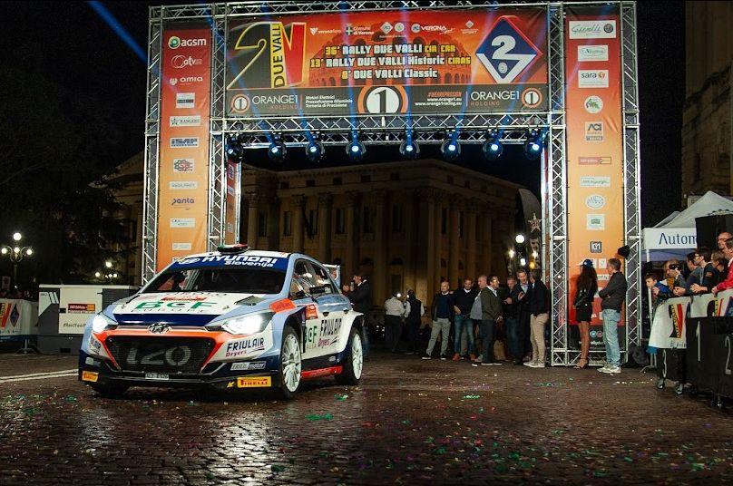 Il Rally Due Valli 2021 torna in piazza Bra (Foto 2018)