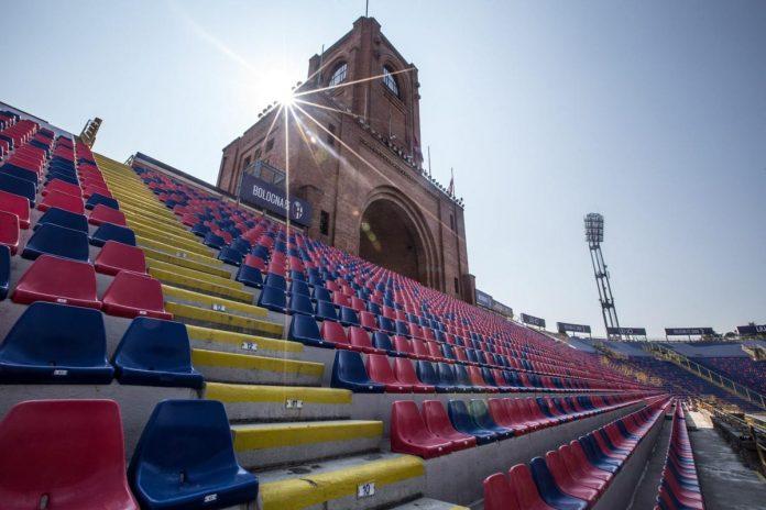 Stadio Renato Dall'Ara, Bologna. Foto dalla pagina Facebook Bologna Fc 1909 Bologna-Hellas