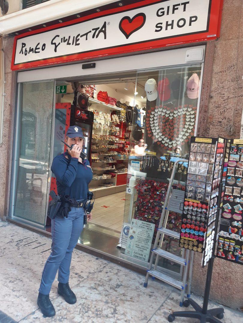 furti Verona Polizia via Cappello