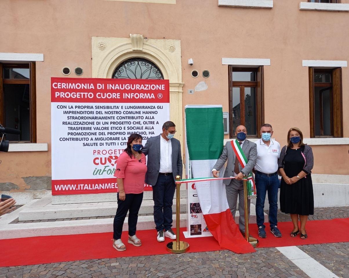 defibrillatore Castelnuovo del Garda