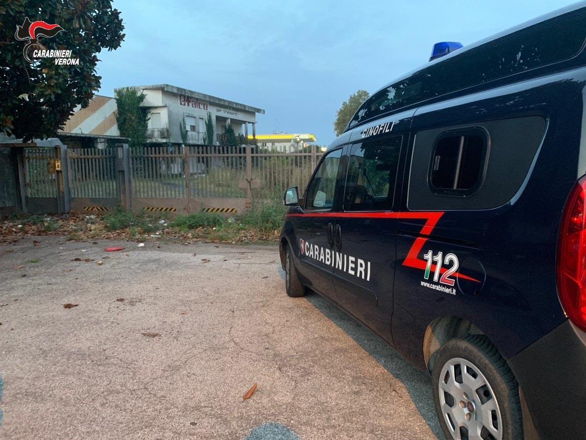 Carabinieri arresto San Bonifacio