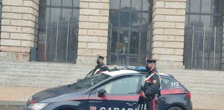 minore rapinato Carabinieri piazza bra gran guardia rapina aggressione