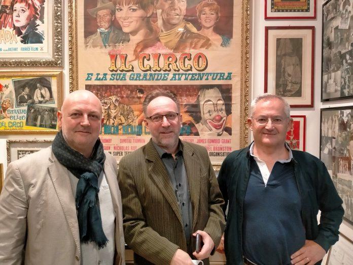 Gianluca Cavedo, Péter Fekete e Massimo Mariotti