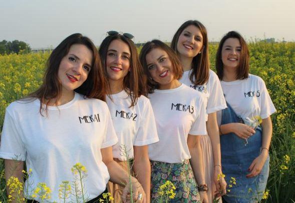 Le sorelle Tovo dell'azienda agricola Meracinque