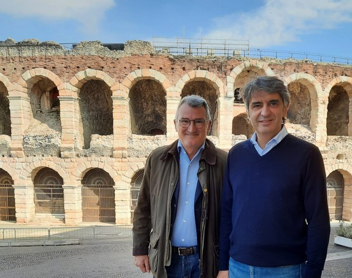 Gianfranco De Cesaris e Federico Sboarina